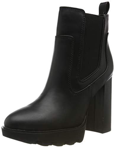 Buffalo Damen Felina Stiefeletten, Schwarz (Black Brush 001), 40 EU