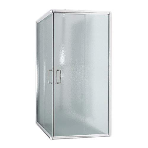 Cabina de ducha rectangular 70 x 100 x 185 (altura) cm, transparente 6 mm