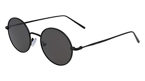 DKNY DK105S Gafas de sol, Gunmetal/Smoke, 47 MM, 19 MM, 135 MM para Mujer