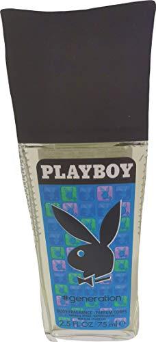 Playboy Generation Men Deo Spray Glass 75ml für Herren