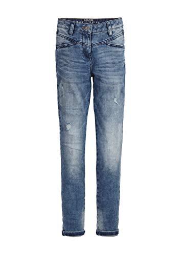 s.Oliver Junior 401.10.002.26.180.2019120 Jeans, Mädchen, Blau 140 REG