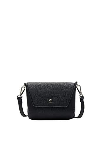 s.Oliver (Bags) Damen Umhängetasche, 9999 Black, Einheitsgröße