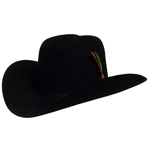 Stetson 6X Rancher Cowboy Hat Color Black (7 3/8)
