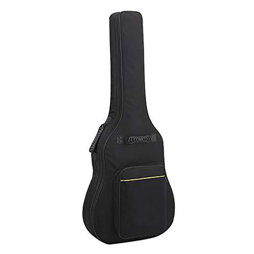 ギターケース 厚手 楽器 音響機器 ギター ギターアクセサリ クラシックギターケース ギターケースバッグ ソフトケース リュック型 アコースティックギターケース エレキギターケース 軽量防水 耐久力 ギグバッグ 耐衝撃 頑丈 改良 楽譜入れ