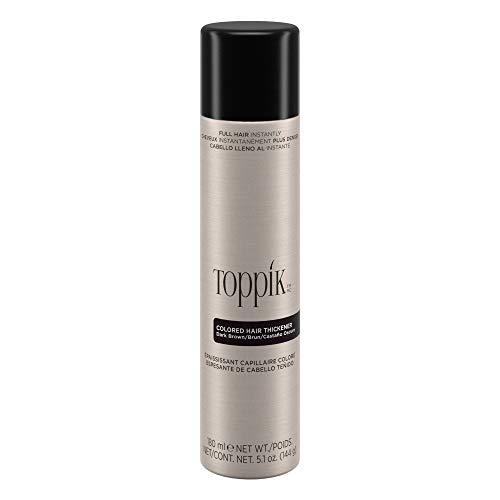Toppik Colored Hair Thickener, Dark Brown, 5.1 oz