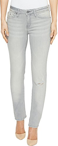 Calvin Klein Damen Skinny Jeans, Graue Dunst, 31W x 30L