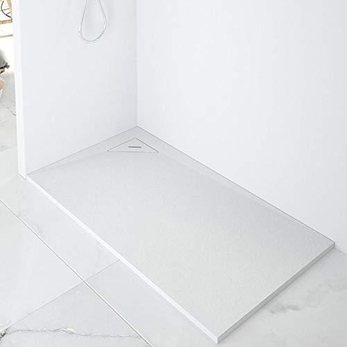 Plato de Ducha Resina CORNER de NUOVVO® 70 cm de ancho BLANCO 70x140cm