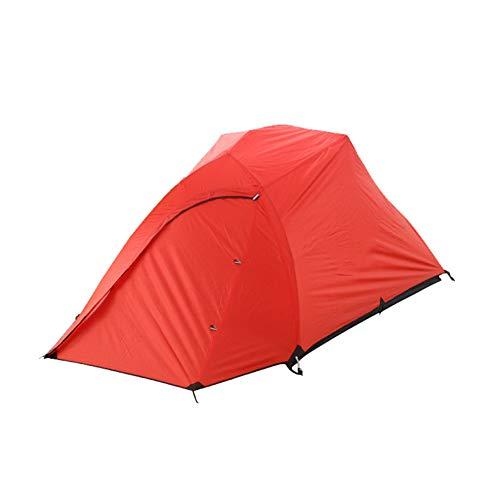 XZHH Tent Ultra Light Outdoor Dubbele Waterdichte Bergbeklimmen Tent Aluminium Paal Regenbestendig Anti-UV Veld Avontuur Tent