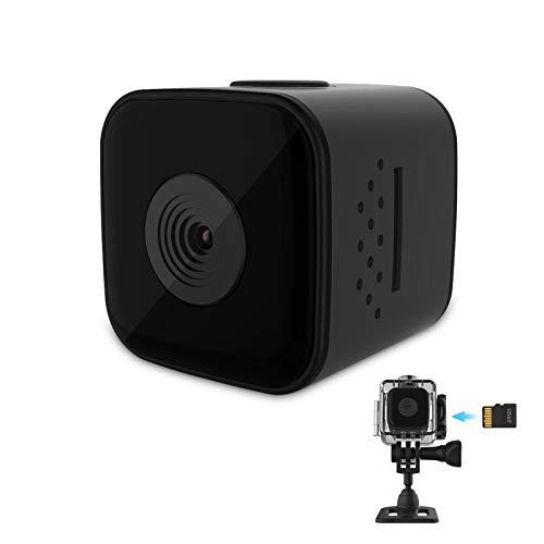 Mini - Cámara 1080p cámara Oculta pequeña cámara portátil de niñera de Alta definición con visión Nocturna y detección de Movimiento, Cámara de niñera de Seguridad
