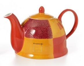 Cha Cult theepot - PATRICIA 1l met gouden laag