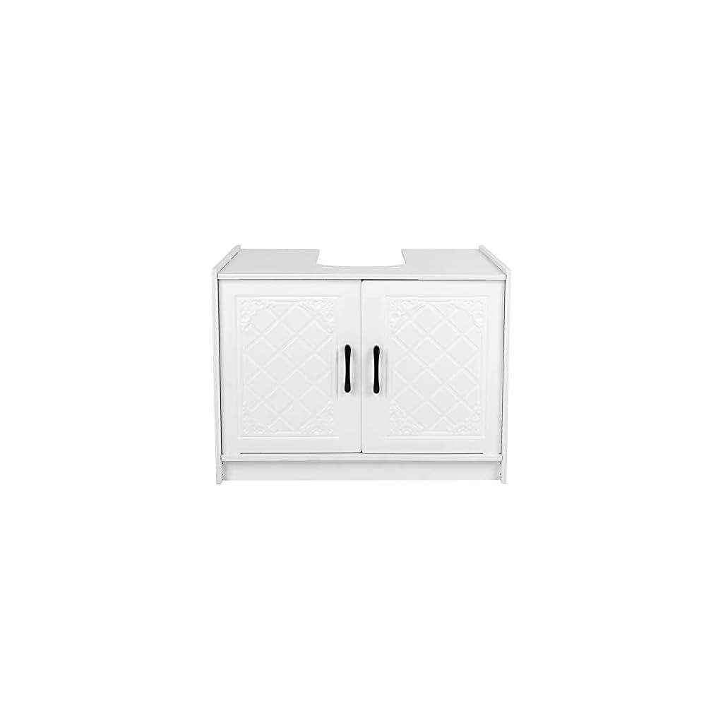 PBOHUZ Meuble sous-Vasque – Meubles de Maison Meuble sous-lavabo Salle de Bain sous lavabo Meuble de Rangement