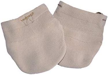 Lmtxxs Rhythmic Gymnastics Toe Shoes Soft Half Knitted Socks Ballet Dance Shoes Half Sole Toe Shoes Girls Women