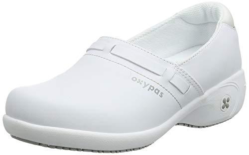 Oxypas Lucia, Zapatos de seguridad para Mujer, Blanco (White Wht), 5 UK (38 EU)