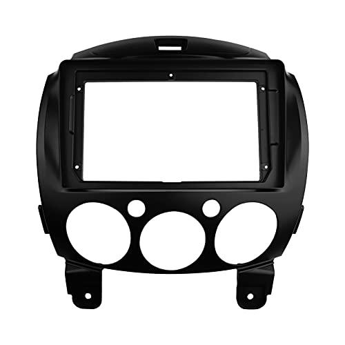 fangyuan Automobile Radio 9 pollici Screen Fascia Fit Fit For Mazda 2 Demio 2007+ Pannello stereo Dashboard Refit Installazione Trim Kit GPS DVD Frame Cornice (Color Name : Frame, Size : 9 inch)