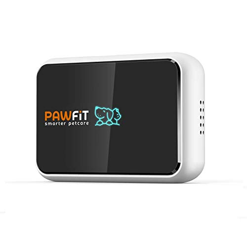 Pawfit 2 GPS Dog Tracker for Pet Dog Collar, Three Positioning, IP68 Waterproof, Removal Alert, Safety Zone Alert, Included Embedded SIM Card, Mini GPS Tracker for Dogs and Large Cats