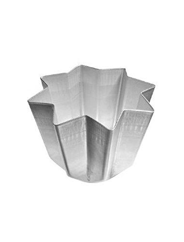 Kuchen-Backform für Pandoro, Panettone, Weihnachten, Aluminium, 1kg