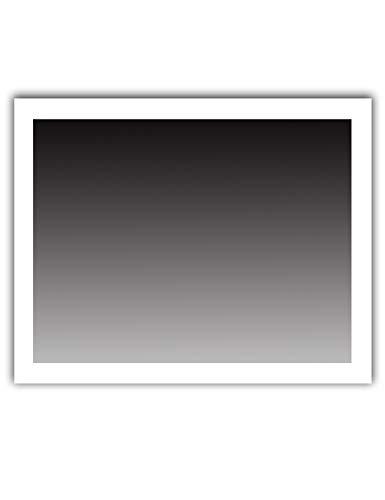 Dr. Fleischmann LED Badezimmerspiegel Lichtspiegel Wandspiegel Kaltweiß 90x60cm