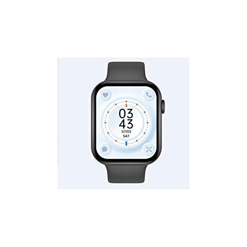 SmartWatch Multifunzione FK78 Nero - Orologio Fitness Tracker, Bluetooth, Cardiofrequenzimetro da Polso Schermo, Impermeabile