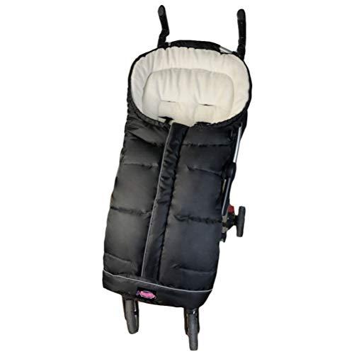 Universal Fits Stroller Footmuff, Soft Padded with Warm Fleece Lining Inside