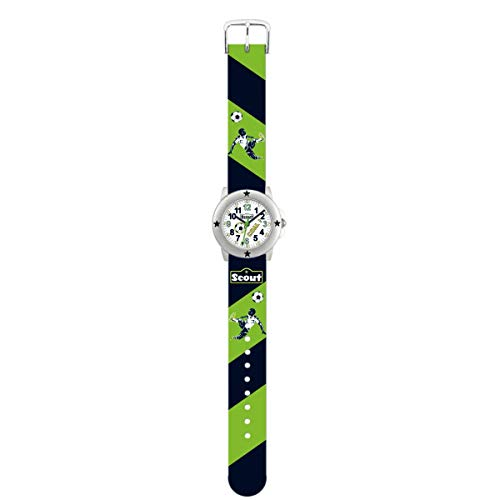 SCOUT Jungen Analog Quarz Uhr mit PU Armband 280393004