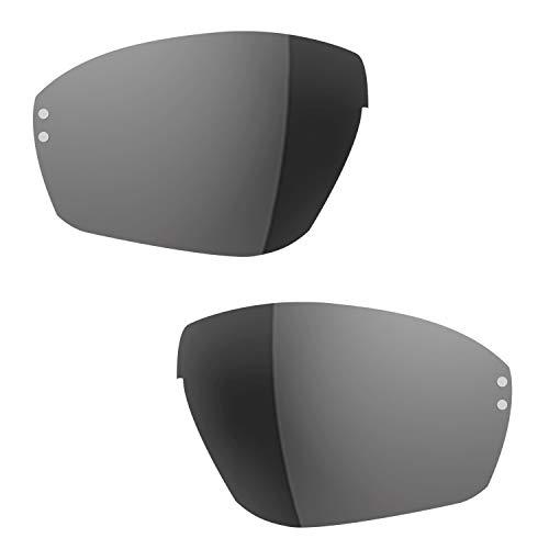 Ersatzgläser für adidas Evil Eye Halfrim und Pro a167 168 a402 a403 LST grey silver (S)