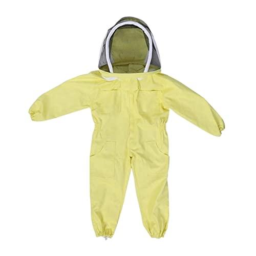 kombinezon ochronny Profesjonalny Dziecko Pszczelarstwo Kostium Ochronny Pszczoły Pszczoła Pszczoła Wyposażenie Gospodarstwa Farm Gość Protect Pebeeping Garnitur Odporne na zużycie, trwałe, bezpieczne