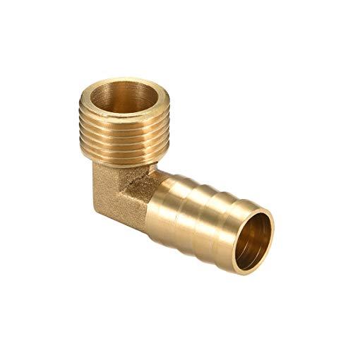 18mm 1pc Tubo de Lat/ón Redondo Tubo de Lat/ón Hueco 50cm de Longitud 0.6-2cm Di/ámetro Exterior