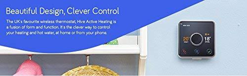 Hive 2–Herramienta para controlar la calefacción, Funciona con Alexa de Amazon, HAH2INSTAMZ-01