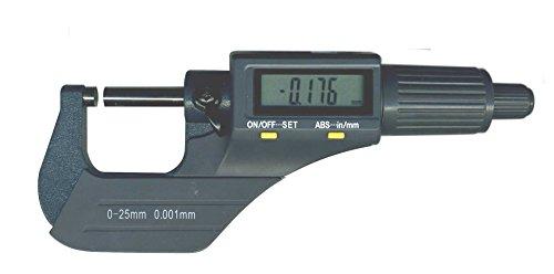 Micromètre digital au micron (0.001 mm). etanche ip40.