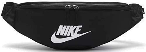 Nike Heritage - Riñonera clásica, color negro