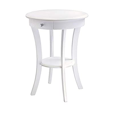 Winsome Wood Sasha Accent Table, White