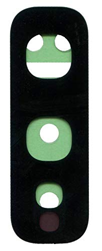 ICONIGON Ersatz für Galaxy S10e (SM-G970F) Kamera-Glas + Kleber (Schwarz)