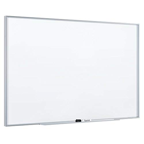 Quartet Whiteboard / Dry Erase Board, Magnetic, 6'x4', Fusion Nano-Clean, Silver Aluminum Frame (NA7248F)