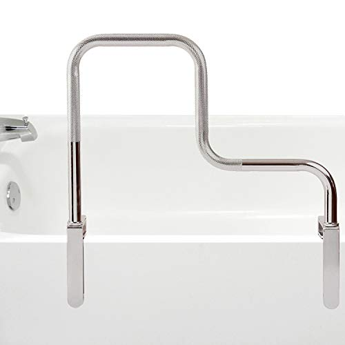 DMI Grab Bar Tub and Shower Handle for Safety and Stability, Rust Resistant, Chrome
