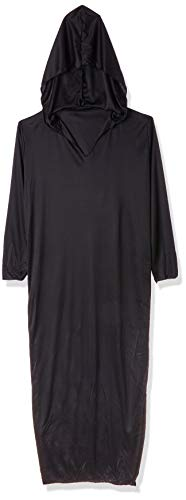 WIDMANN- Traje muerte vestido con capucha, Color negro, M (00012)