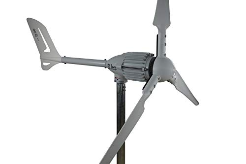1500W/2000W Generador de Viento 24V/48V Modelo Variación Generador de Viento, Von Ista-Breeze Aerogenerador, Viento Turbina - Black Edition, 24 VOLT 1500 WATT