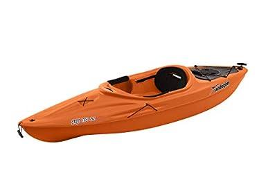 SUNDOLPHIN Fiji 10 SS Sit-in Recreational Kayak - Tangerine