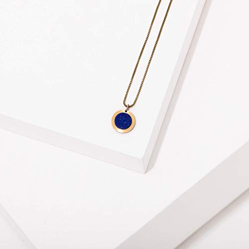 Brene Necklace in Lapis
