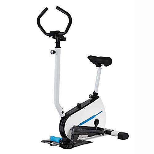 Ejercitador Paso Bicicleta ElíPtica Profesional MáQuina Entrenamiento Fitness para El Hogar para Todas Las Edades MAX User,B