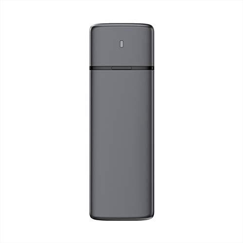 AISENS - ASM2-002G - Caja Externa M.2 (NGFF) SATA/NVME A USB3.1/USB3.2 GEN2, Gris
