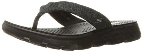 Skechers womens On-the-go 400 - Vivacity Sandal, Black, 10 US