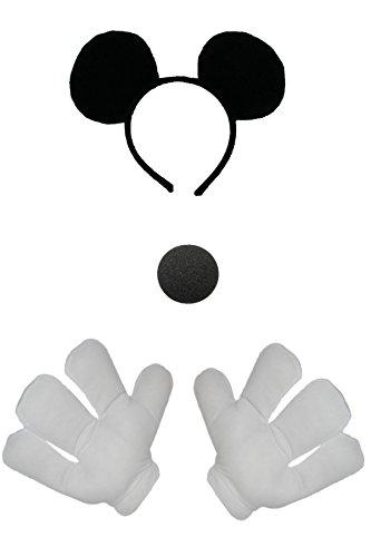 Juego de accesorios para disfraz de ratn.
