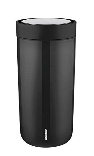 Stelton Termobecher to Go Click Stahl Becher, 0.4 l. - schwarz metallic