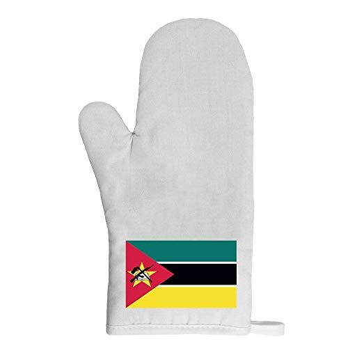 Mygoodprice Ofenhandschuh Topflappen Flagge Mosambik