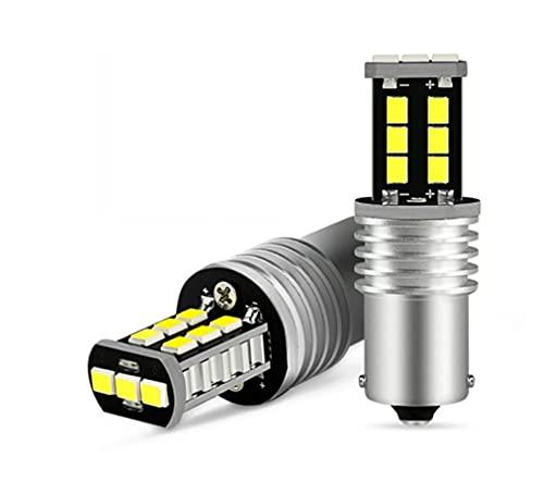 XINXIN LakerBig 2pcs P21W LED Lámpara de Cola de la luz de Freno CANBUS 1156 P21W Bombilla 2835 SMD Apto para Volkswagen VW Golf 4 5 6 7 Passat B6 B5 T5 Polo 12v