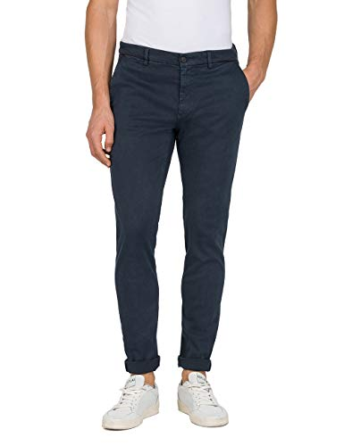 Replay Herren Zeumar Slim Jeans, Blau (Blue 10), 28W / 32L