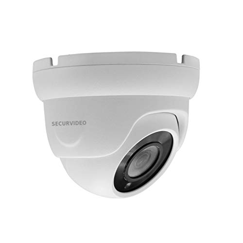 Telecamera Mini Dome Turret Videosorveglianza HD 2MPX 1080P Ibrida 4IN1 AHD/TVI/CVI/CVBS 3.6mm, OSD/UTC, coaxial control, weathe