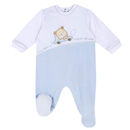 Chicco Tutina con Apertura entrogamba Mamelucos para bebés y niños pequeños, 21, 56