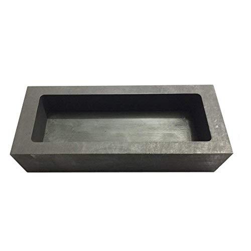SZQLF Moldes de lingotes de Grafito, Molde de lingotes de Hierro Fundido de Pan de Onza para refinación de fundición