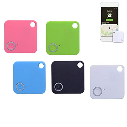 Key Finder Item Smart GPS Tracker Locator Compatible with Bluetooth Tracking Device, Anything Anti-Lost 5 Pcs